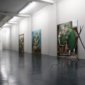 inst view_NUN, Gregory Forstner and Gian Domenico Sozzi, 2009, installation view; courtesy Otto Zoo_0060_web