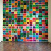 Maria Morganti, installation view at Fondazione Bevilacqua La Masa, 2006, 300 papers, oil pastel and oil stick on paper, each 26 x 18 cm. Courtesy Otto Zoo