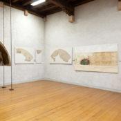 Maria Morganti, installation view of Unita di misura è il colore at Museo di Castelvecchio, 2010