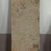 Maria Morganti, Nei Travertini #3, 2015, Pieve a Presciano, plasticine, travertine, 46 x 13 x 1,5 cm max. Courtesy Otto Zoo