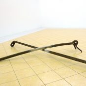 T-Yong Chung, Untitled, 2011, polish up from abondoned iron tools, 160 x 160 x 35 cm. Courtesy Otto Zoo