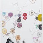 Edwin Vlassenroot, Herbst 3, 2011,oil, tempera, chalk on linen, 85x130 cm. Photo Luca Vianello.