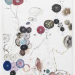 Edwin Vlassenroot, Herbst 4, 2011,oil, tempera, chalk on linen, 85x130 cm. Photo Luca Vianello.