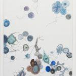 Edwin Vlassenroot, Herbst 6, 2011,oil, tempera, chalk on linen, 85x130 cm. Photo Luca Vianello.