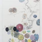 Edwin Vlassenroot, Herbst 8, 2011,oil, tempera, chalk on linen, 85x130 cm. Photo Luca Vianello