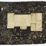 Wilfrid Almendra, Basement (Évolution), 2011, macadam, concrete, 70 x 90 cm. Courtey Otto Zoo