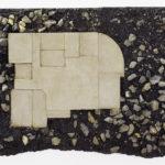 Wilfrid Almendra, Basement (Privilège), 2011, macadam, concrete, 70 x 90 cm. Courtey Otto Zoo