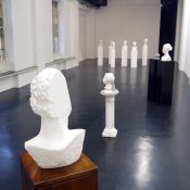 T-yong Chung, Odyssey in Italy, 2015, installation view. Courtesy Otto Zoo
