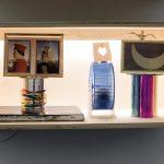 Serena Vestrucci, Love Affairs, 2014, Different materials, (hamster), wooden and glass box, 30x66x39cm. Courtesy Otto Zoo.