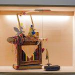 Serena Vestrucci, Love Affairs, 2014, Different materials, (recorder), wooden and glass box, 50x66x39cm. Courtesy Otto Zoo.