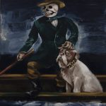Gregory Forstner, Rain Dog (1) , 2010, oil on linen, 250 x 200 cm. Courtesy Otto Zoo