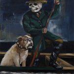Gregory Forstner, Rain Dog (2), 2010, oil on linen, 250 x 200 cm. Courtesy Otto Zoo