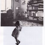Nicoletta Dalfino Spinelli, 5 Migrazioni Familiari, 2011, archive image and cotton thread on drawing paper, 21 x 29 cm. Courtesy Otto Zoo