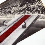 Nicoletta Dalfino Spinelli, La discarica 3, 2010 - 2011, archive images and trasparent colour on glass, 18 x 24 cm. Courtesy Otto Zoo