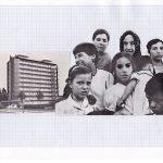 Nicoletta Dalfino Spinelli, Senza Titolo 2, 2011, archive image and cotton thread on drawing paper, 21 x 29 cm. Courtesy Otto Zoo