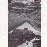 Nicoletta Dalfino Spinelli, Senza Titolo, 2012, archive image and cotton thread on paper, 29,5 x 21,5 cm. Courtesy Otto Zoo
