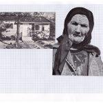 Nicoletta Dalfino Spinelli, Senza titolo 1, 2011, archive image and cotton thread on drawing paper, 21 x 29 cm. Courtesy Otto Zoo