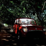 Bharat Sikka, Untitled I (red car), 2001, archival inkjet print, 110 x 90cm ed. 4 of 6. Courtesy Otto Zoo