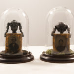 Sebastiano Mauri, Alien, 2010, mixed media, 12 x 12 x 17 cm each. Courtesy Otto Zoo