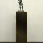 T-Yong Chung, Untitled, 2011, modified copy of Riace bronze, 18 x 12 x 55 cm. Courtesy Otto Zoo_02