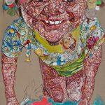 Schandra Singh, Bianca, 2011, oil on linen, 275 x 183 cm. Courtesy Otto Zoo