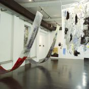 inst view_Ala Dehghan, Jump-Cut to Eyeline-Match-Forgetting the Sound of Her Voice, 2015, installation view_2