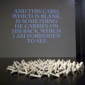 Burn Breathe, Marina Berio and Lidia Sanvito, 2010, installation view. Courtesy Otto Zoo