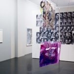 Kandis Williams, Red Square, 2013, installation view. Courtesy Otto Zoo