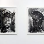 Gregory Forstner, Works on Paper, 2012, installation view. Courtesy Otto Zoo