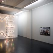inst view_Presumed Reality, Berjamin Bengmann and Ebbe Stub Wittrup, 2009, installation view; courtesy Otto Zoo_2163_web