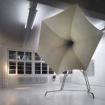Benjamin Bergman, Schlaflos, 2009, wood, polystyrene, gypsum, fabric, wax, PU foam, light, color, soft PVC, 290 x 380 x 185 cm. Courtesy Galerie Zink Munich, Berlin