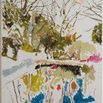 Gianluca Di Pasquale, Riflessi, 2008, olio su tela, 70 x 50 cm. Courtesy Otto Zoo