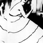 Lillian Bassman, Margy Cato, Harper's Bazaar, 1947, 51 x 61 cm gelatin silver print, edition 16/25. Courtesy Otto Zoo