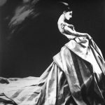 Lillian Bassman, Night Bloom, Ball Gpown by Givenchy, New York Times Magazine, 1996, 41 x 51 cm, gelatin silver print, edition 10:25. Courtesy Otto Zoo