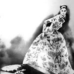 Lillian Bassman, Night Bloom, Ballgown by Christian Dior Haut Couture, Paris, 1996, 51 x 61 cm, gelatin silver print, edition 2:25. Courtesy Otto Zoo