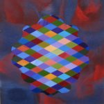 Stephen Mueller, Untitled (#845), 2006, acrylic on canvas, 30 x 30 cm. Courtesy Otto Zoo