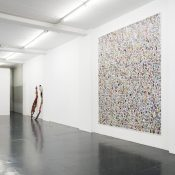 Jacin Giordano, Hunting in the Valley of Color and Plastic, installation view. Courtesy Otto Zoo. Ph. Luca Vianello