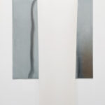 Meris Angioeltti, L'anello e il libro - partizione 1, 2017, linoleum, zinc, ed. 1/3, 150 x 150 cm. Courtesy Otto Zoo, ph. Luca Vianello