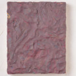 Maria Morganti, Impastamento #1, 2013, Venezia, plasticine on wooden board, 22 x 18 x 2,5 cm. Courtesy Otto Zoo