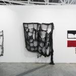 Artissima, 2015, Maria Morganti, Marion Baruch, Eva Marathaki, installation view. Courtesy Otto Zoo. Ph. Luca Vianello