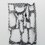 Marion Baruch, Scultura (Coincidenze), 2015, seta stampata, 170 x 120 cm circa. Courtesy Otto Zoo. Ph Luca Vianello