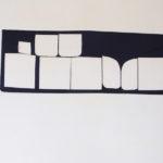 Marion Baruch, Teatro Nero, 2013, silk, 55 x 154 cm ca. Courtesy Otto Zoo. Ph Luca Vianello
