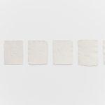 T-Yong Chung, Contact 3(installation), 2018, calcografy on handmade paper, 24x31cm (each). Courtesy Otto Zoo. Ph. Luca Vianello.