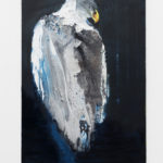 OZ_Davide Rivalta, Aquila, 2017, oil on canvas, 120 x 80 cm. Courtesy Otto Zoo. Ph. Luca Vianello.