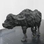 OZ_Davide Rivalta, Bufala, 2012, bronzo, 154 x 250 x 81 cm. Courtesy Otto Zoo. Ph. Luca Vianello.