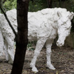 OZ_Davide Rivalta, Cavallo, 2010, fiberglass, 140 x 140 x 80 cm. 3. Courtesy Otto Zoo. Ph. Luca Vianello.
