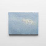 OZ_Davide Rivalta, Lupo, 2017, oil and paper tape on canvas, 52 x 70 cm. Courtesy Otto Zoo. Ph. Luca Vianello.