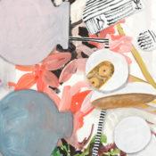 #47, gouache on paper, 35x27 cm