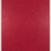 Maria Morganti,Sedimentazione 2013 #1, Venezia, oil on canvas, 180x160cm.