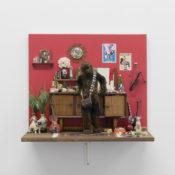 Sebastiano Mauri, Amor Sacro e Amor Profano, 2019, mixed media, 51,8x60x34 cm